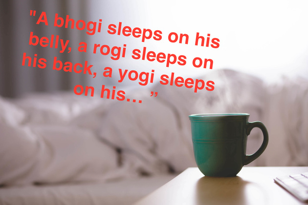 Sleep Like a Yogi!